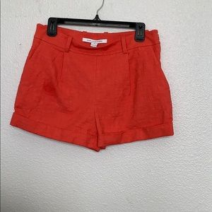 Diane Von Furstenberg Coral Shorts